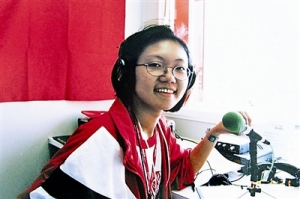 Me in the Sydney studio, reporting the 2000 Olympic Games